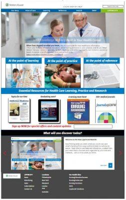 Large catalog website brand
