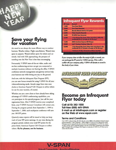 Vspan Infrequent Flyer Side 2