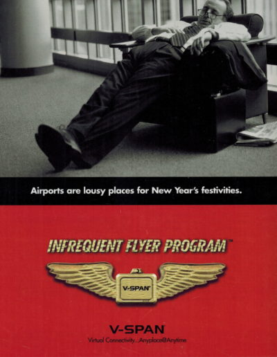 V-Span Infrequent Flyer, Side 1